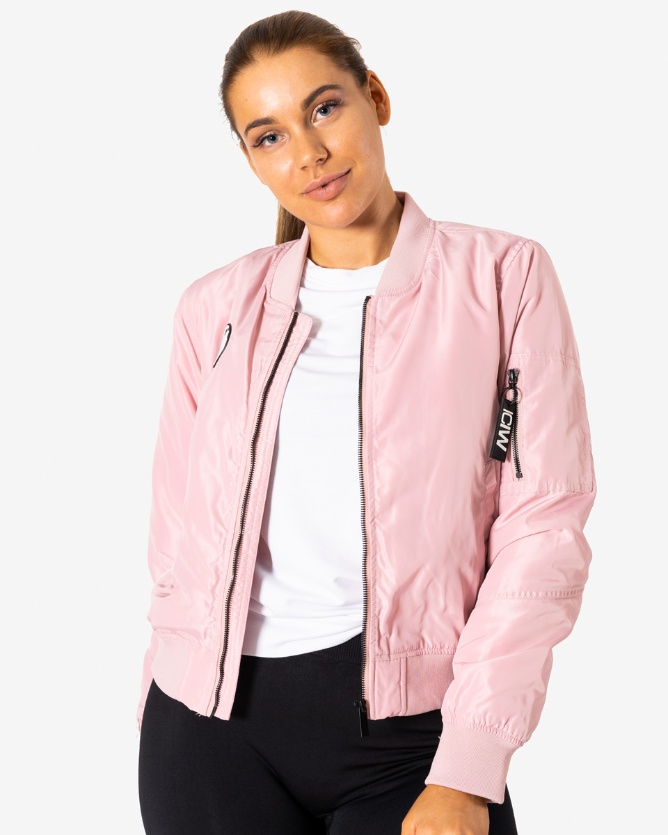 Bomber Jacket for Women Pink Size L NEW! www