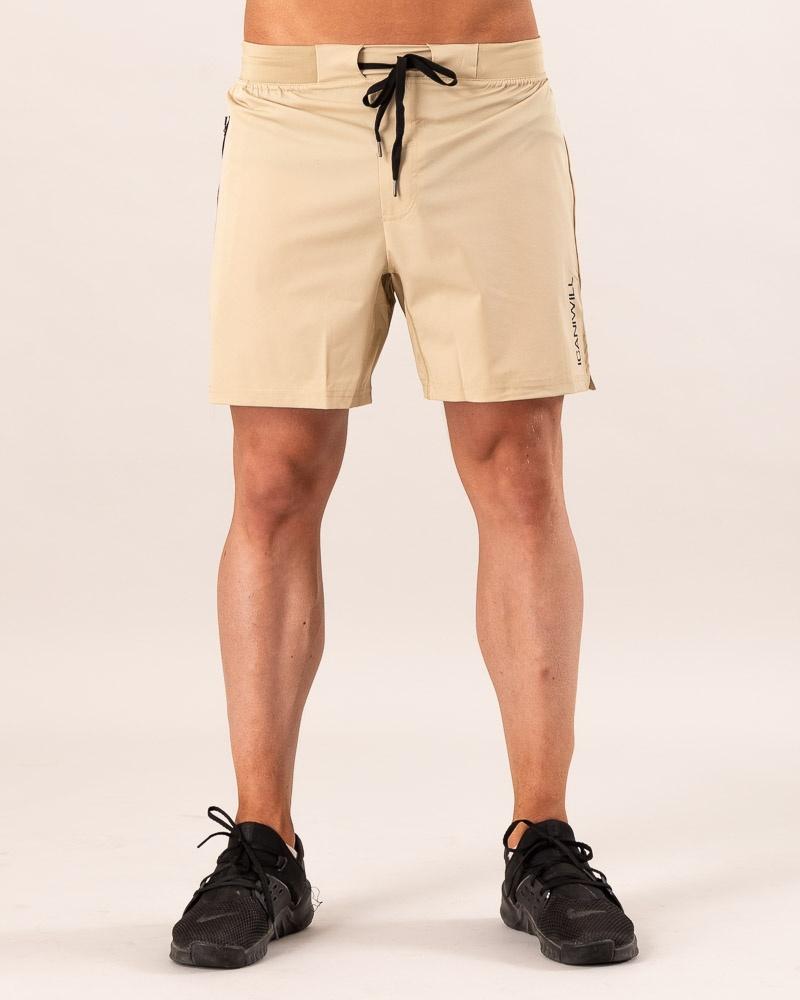 Perform Short Shorts Beige Men L